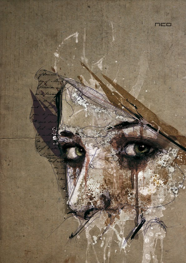 12-Marie-Florian-Nicolle-neo-Portrait-Paintings-focused-on-Expressions-www-designstack-co