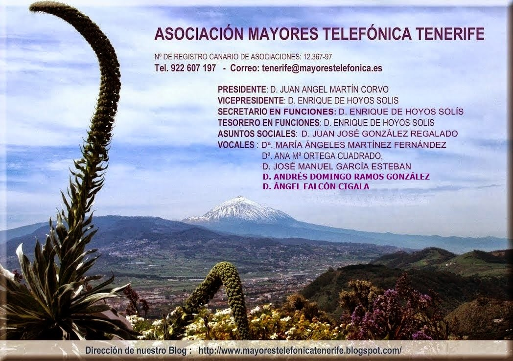 ASOCIACION MAYORES TELEFONICA TENERIFE