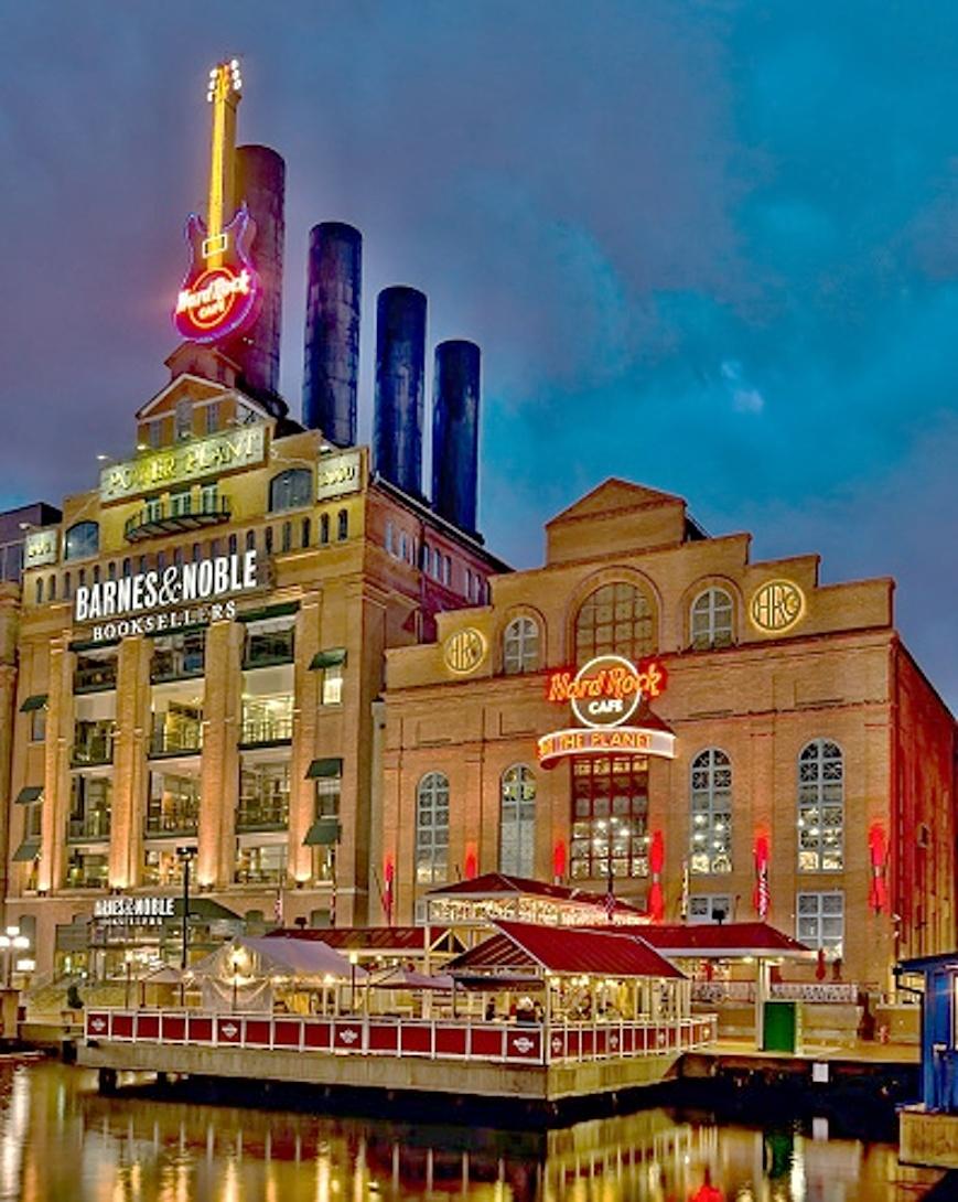 Baltimore Hard Rock Cafe Menu Prices