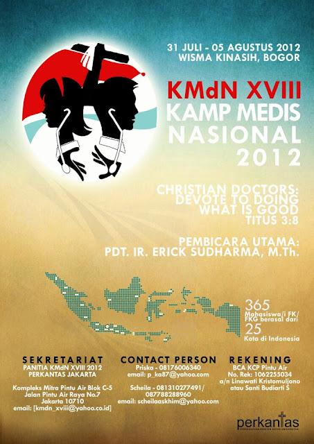 KAMP MEDIS NASIONAL XVIII 2012