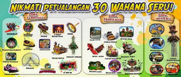 ... Wahana Seru di Jungle Land Adventure Park - Sentul « SaranWisata.com
