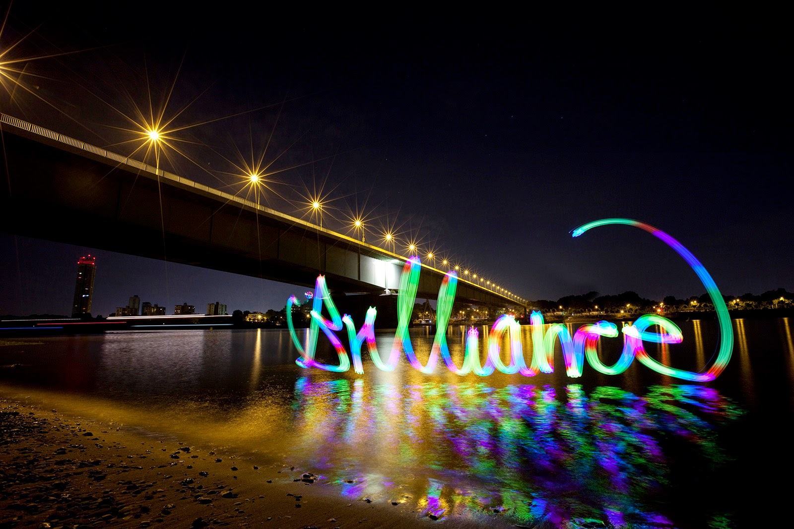 Lichtfaktor, light painting, Samsung Galaxy Tab S