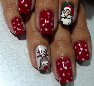 Come into fashion decoraci n de u as navide as for Decoracion de unas converse