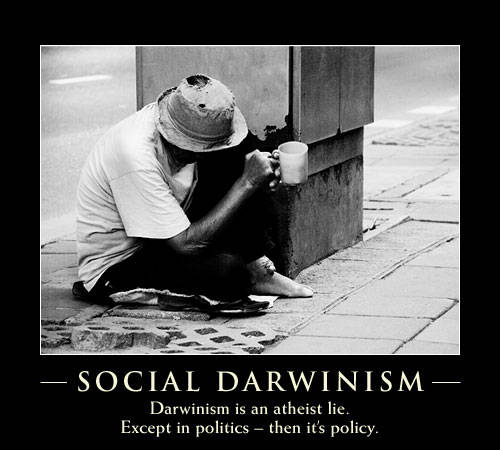 a description of darwin as not responsible for social darwinism A look at social darwinism and other philosophies regarding  this theory  applied charles darwin's laws of evolution and natural  people of wealth did  not only have power, but also great responsibility it was  description.