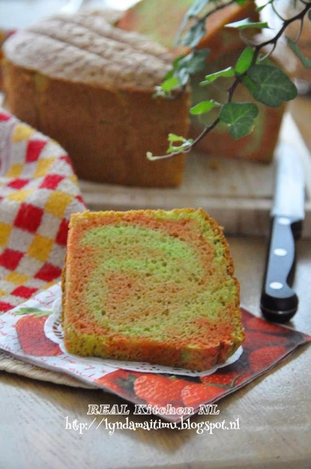 REAL Kitchen NL: CHIFFON CAKE PANDAN GLUTEN FREE