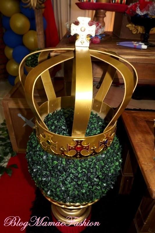 decoracao festa rei arthur:Mamãe Fashion: DECORAÇÃO REI ARTHUR: 1º ANINHO