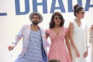 Actress Priyanka Chopra Latest Pictures in Stylish Short Dress at Dil Dhadakne Do Music Launch  56