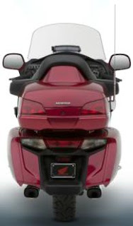 2012 Honda Gold Wing Red