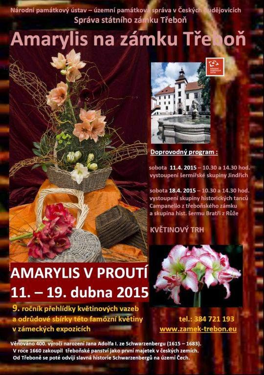 výstava květinových vazeb Třeboň