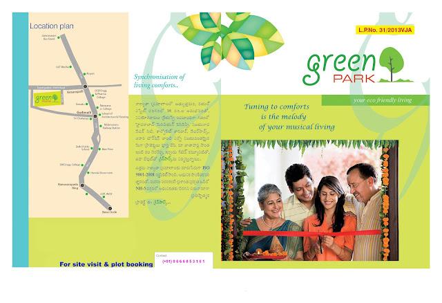Green Park – Jakkula Nekkelam - Near Kesarapalli