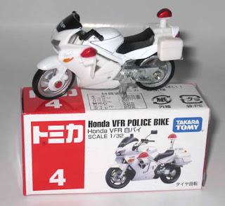 Harga Miniatur Motor Honda -  Police Bike