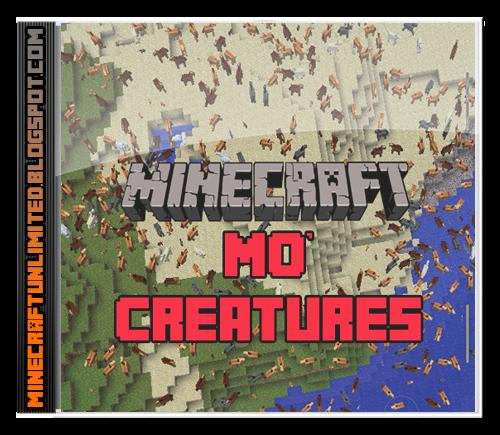 Mo' Creatures Mod Minecraft