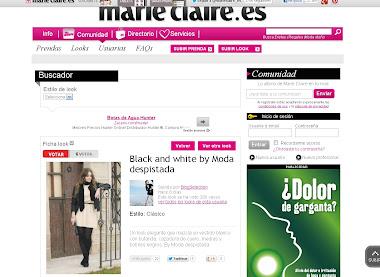 Moda despistada en Marie Claire
