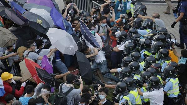 """香港""""雨伞革命""""图5"""