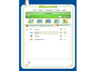 Navoto virtual PBX for Skype