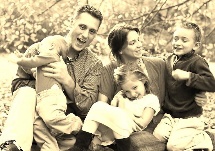 Matt, Christina, Quinn, Ava, & Ethan