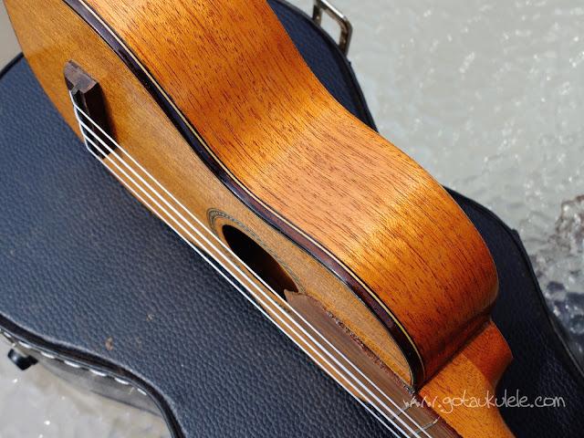 Wunderkammer Ike Soprano ukulele binding