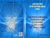 """Si el Grandios Dios quiere, este Libro Frenará el """"Matrimonio Homosexual"""",  y la Homosexualidad"""