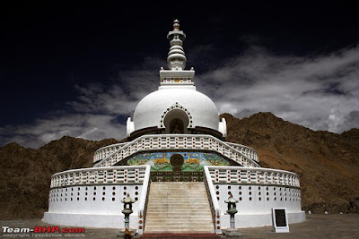 Tumple in Ladakh City