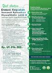 Donasi Kegiatan Semarak Ramadhan Muwahhidin 1439 H