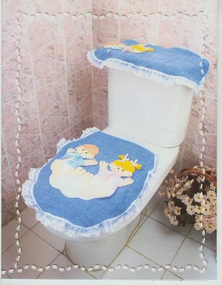 Juegos De Baño De Fieltro Para Primavera:Como hacer juegos de baño – Revistas de manualidades Gratis