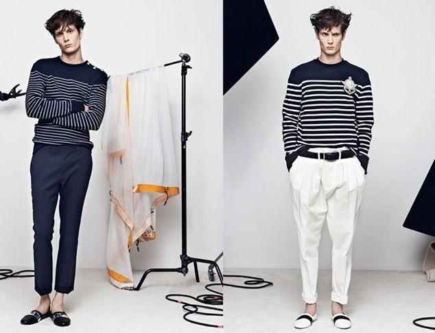 Campaña de Balmain con estilo Navy te lo contamos en nuestro blog de moda masculina