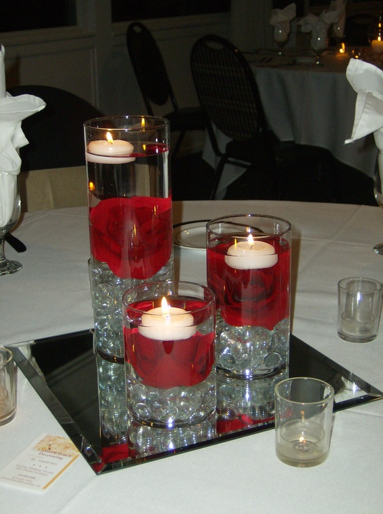 Do it yourself weddings easy do it yourself centerpieces the perfect centerpiece is ready to be put on the table just waiting for the reception to begin and candles to be lit solutioingenieria Image collections