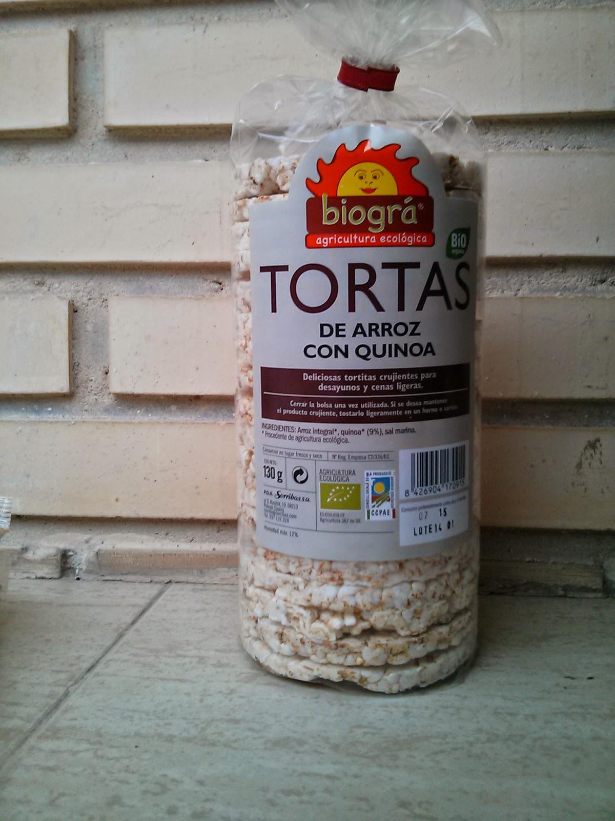 Tortitas de arroz y cereales ECO