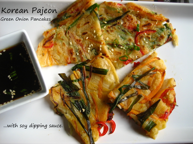 Pajeon (Korean Scallion Pancake) Recipe — Dishmaps