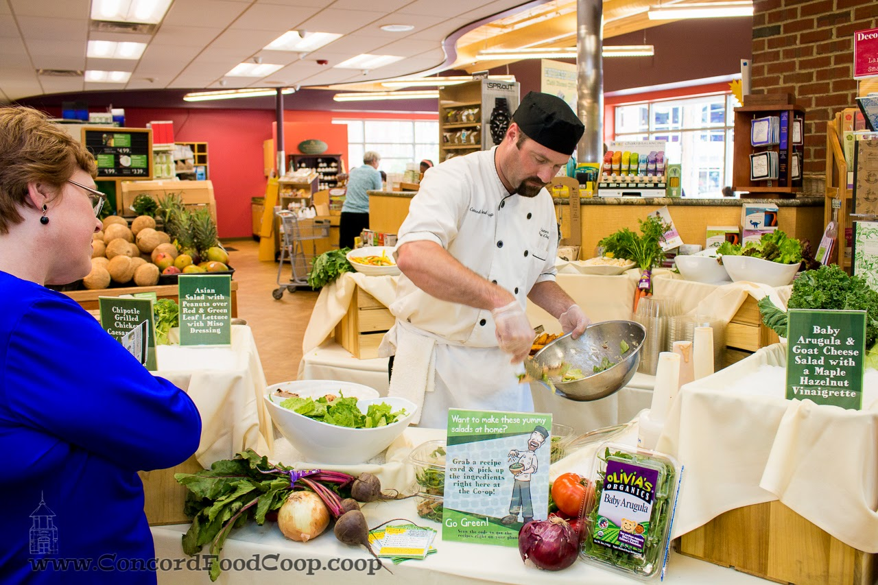 Executive Chef Scott Jones Live Salad Station