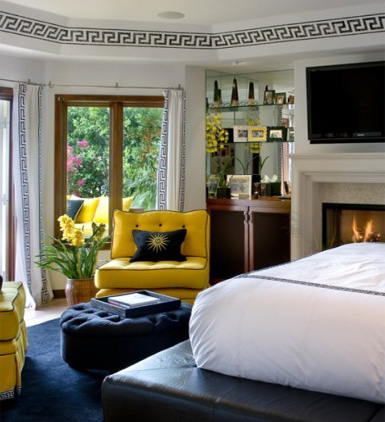Jodie carter design yellow interiors - Yellow interior house design photos ...