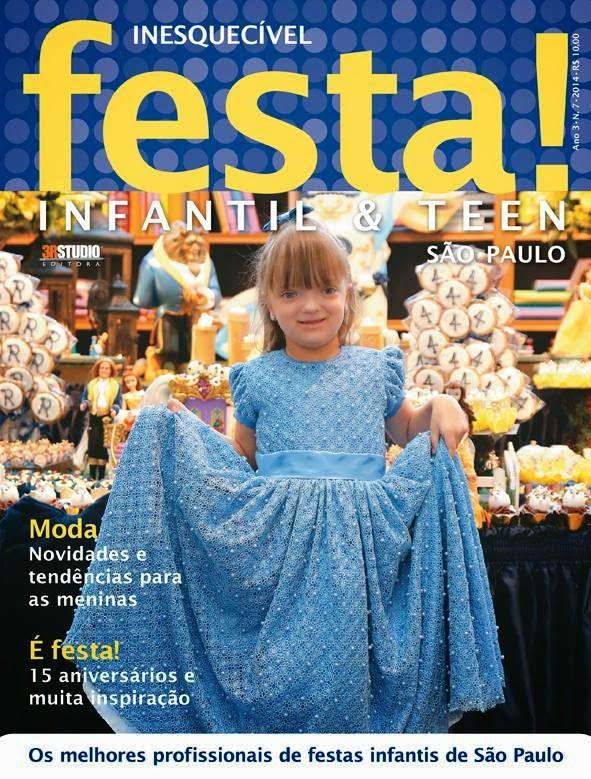 Revista Inesquecível festa Ano 3 Ed. 7