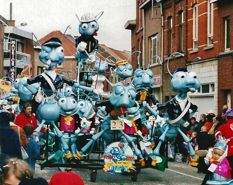 Carnaval Aalst foto- en videoblog: 4. SchiefregtOever