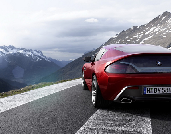 BMW Zagato Coupe One-Off Concept left rear