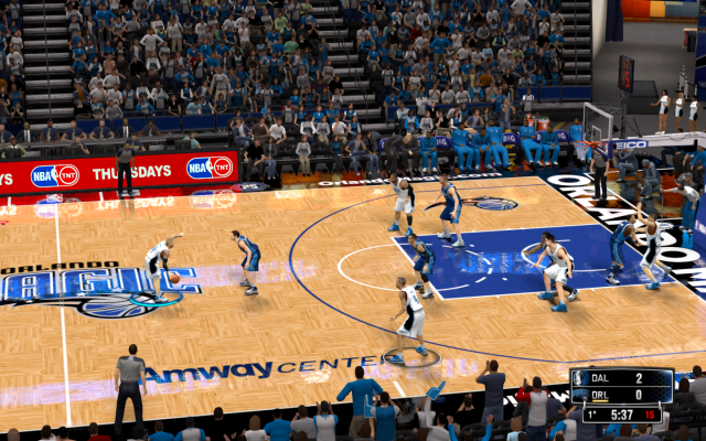 Magic HD Court | NBA 2K14 PC Mod