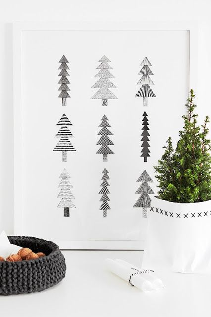 minimal theme christmas decorations