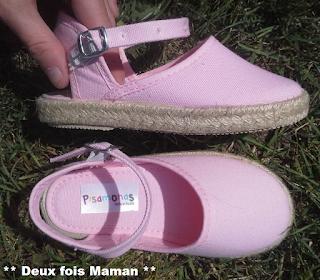 test chaussures pisamonas
