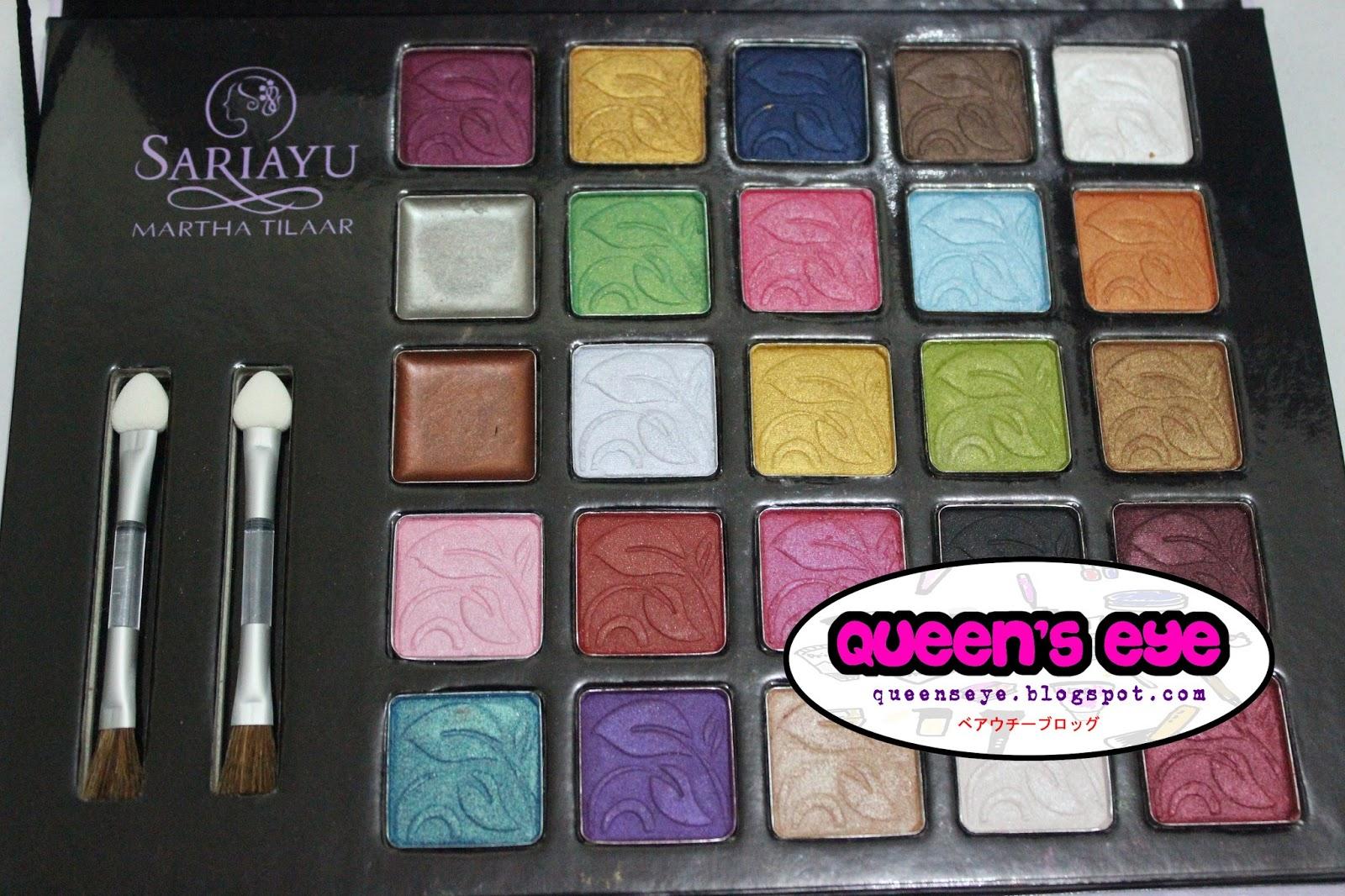 Queens Eye SARI AYU 25th Anniversary Eyeshadow Palette