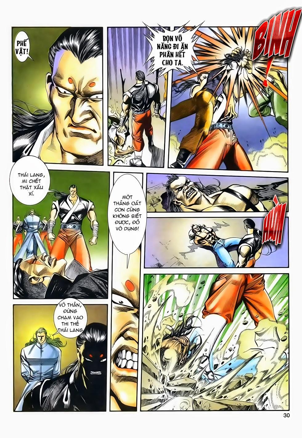 Long Hổ Phong Bạo chap 3 - Trang 30