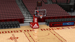 NBA 2K13 Houston Rockets Stadium Patch