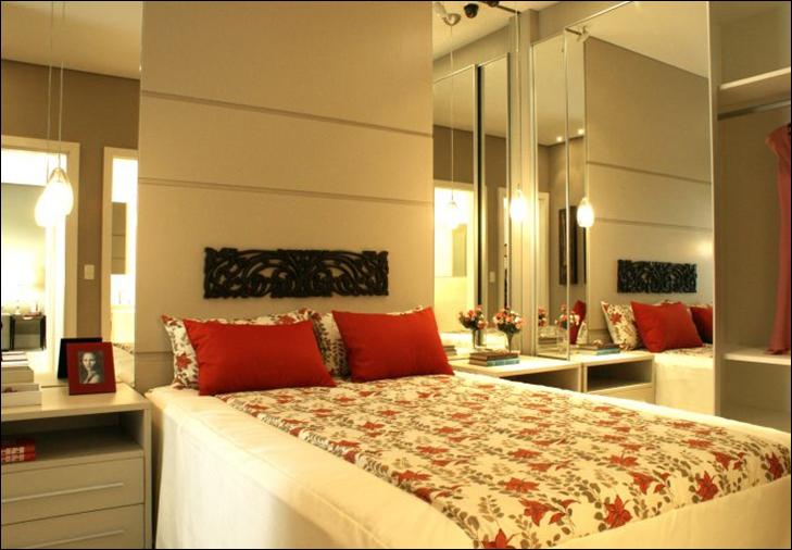 Lessa Design Gesso e Iluminação em quarto de casal
