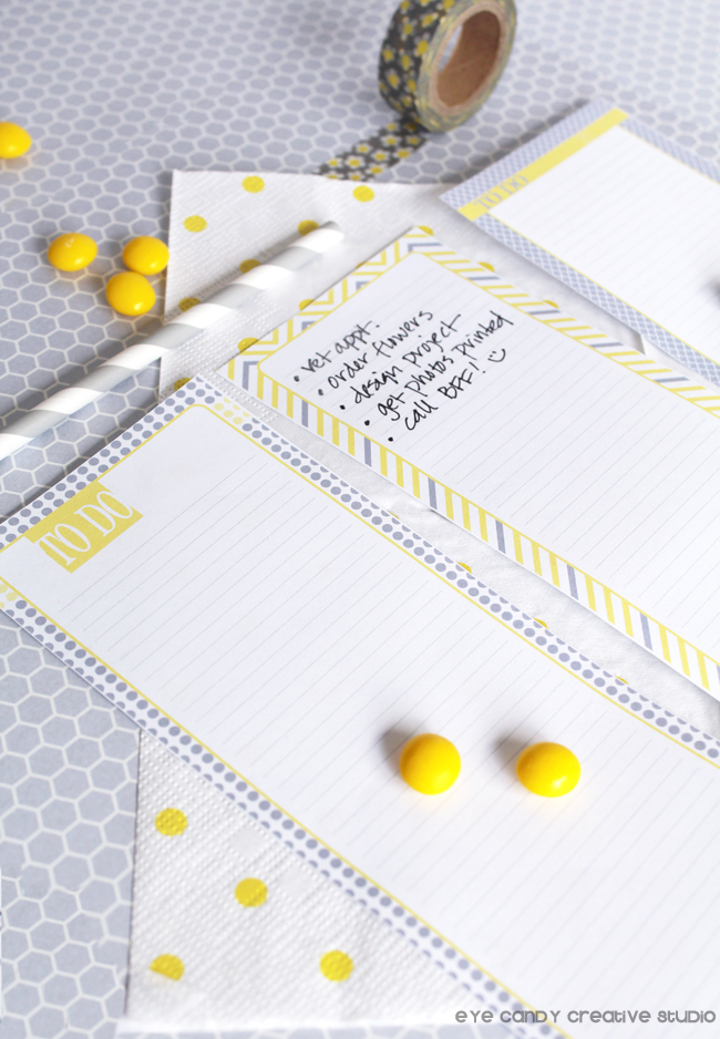 to do list design, gift idea for teachers, birthday gift idea, holiday gift idea