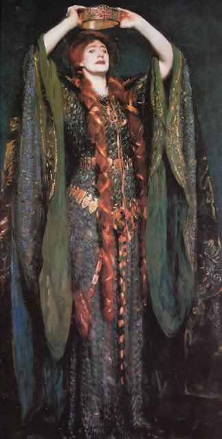lady macbeth,john singer sargent,impressionism