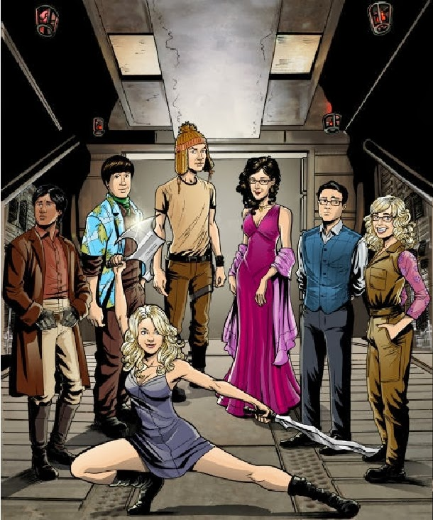 The Big Bang Theory Mashup Firefly