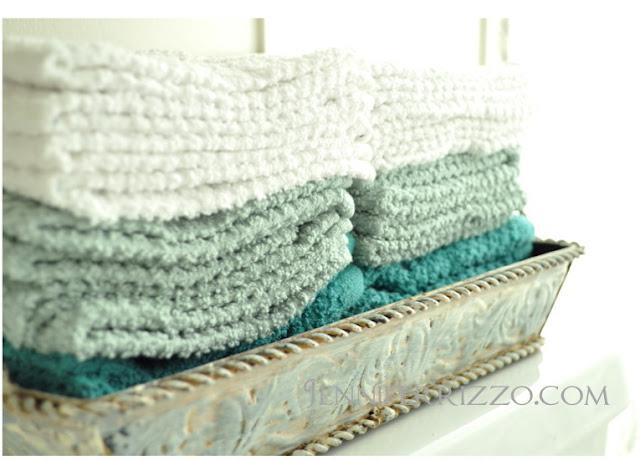 hombre guest towels