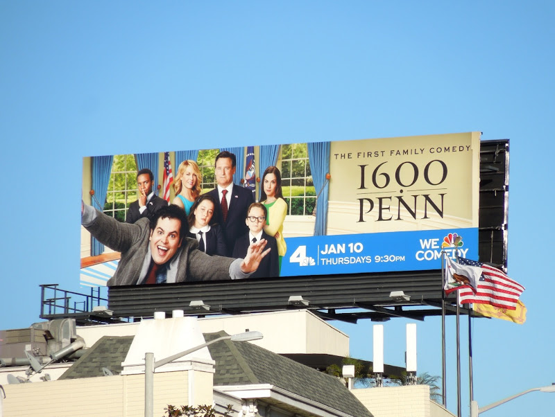 1600 Penn season 1 billboard