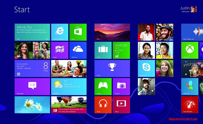 Tài Liệu Hướng Dẫn Sử Dụng Windows 8