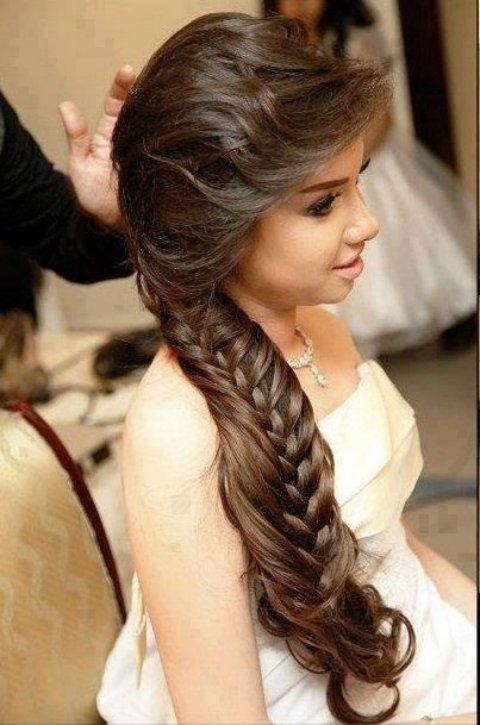 Baby Shower Hairstyles Styles http://weddingstyles4u.blogspot.in/2013/05/bridal-hair-styles.html