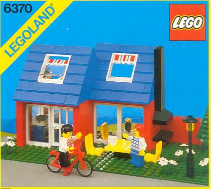 Steve 39 s lego blog the classic lego house for Lego house original