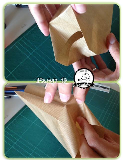 hacer bolsitas de papel